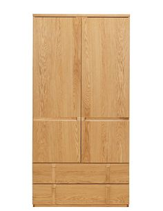Buy the Gainsborough Double Wardrobe from Marks and Spencer's range. Double Wardrobe, Wardrobe Furniture, Spare Room, Wardrobes, Space Saving, Armoire, Tall Cabinet Storage, Cool Things To Buy, Drawers