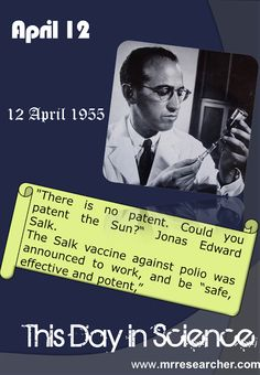 April 12 | Mr. Researcher