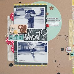 Great layout from Kelly Noel for Studio Calico