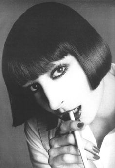 Anjelica Huston - Vogue by Richard Avedon, January 1973