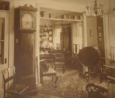 """People nowadays would think Victorian homes as crowded or cluttered, but not us! You'll actually see, once you look closer, that much of what appears to be litter is simply more chairs, that were necessary for additional company or when hosting a get-together. As people would use to say, """"Y'all have chairs here!"""""""