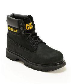c1bf3b7fa5d Cat Colorado Black Boots