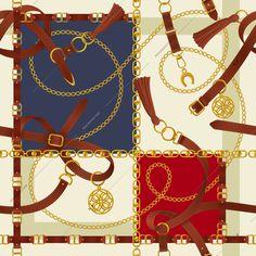 Elephant Tapestry, Digital Image, Belt, Chain, Illustration, Artist, Graphics, Belts, Graphic Design