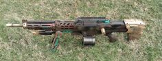 Steampunk Nerf Longshot Tactical Sniper Rifle Prop Gun HvZ via Etsy