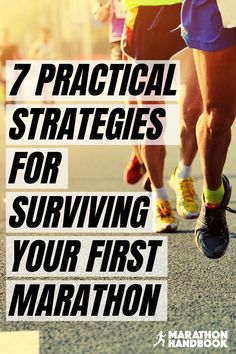 Running your first marathon is a massive life event – completing miles on foot is a testament to your dedication, your training, your grit, and your athletic prowess. 7 Practical Strategies For Your First Marathon: How To Survive (And Enjoy) Miles Half Marathon Tips, Running Half Marathons, Half Marathon Training Plan, First Marathon, Track Quotes, Running Quotes, Marathon Running Motivation, Marathon Quotes, Running For Beginners