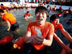 Slideshow : Hwacheon annual Ice Festival - Hwacheon annual Ice Festival | The Economic Times