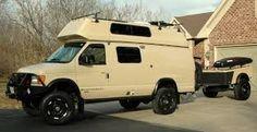 4x4 Van, Airstream, Camper Van, Van Life, Motorhome, Recreational Vehicles, Vans, Ideas, Rolling Carts