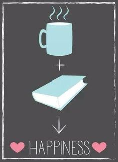 coffee + books = happiness