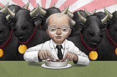 Bob Dob #illustration - prize winning cattle
