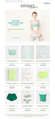 #newsletter #design #fashion  http://www.oysho.com/