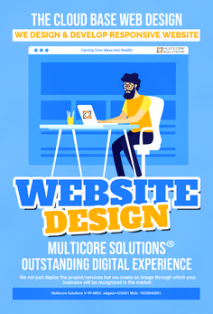 To make a good first impression, you always need to travel an extra mile. So, when someone finds you online, your website is often your first and only chance to make a good impression. So, we at Multicore Solutions make an all out effort to make your ideas and requirement to a website which will stand out in its own way in this virtual world. We bundle up every single option needed to level-up your business.