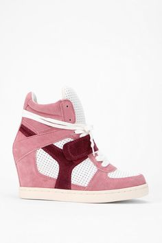 UrbanOutfitters.com > Ash Suede High-Top Wedge-Sneaker