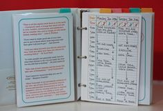 Check out this site! Full of free printable resources to keep you organised!