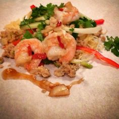 Mine matskriblerier: Nudelsalat - Yam Wun Sen