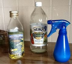 DIY Dusting Spray without the wax buildup: 1 cup white vinegar, 1/2 teaspoon olive oil, 3 cups water & lemon juice for scent
