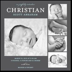Future Birth Annoucement I think yea!! Just hope Christian doens't become a super popular name.