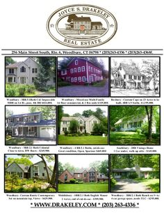 Woodbury / Roxbury / Middlebury /Southbury * Homes for Sale in Connecticut * by Joyce S. Drakeley Real Estate via slideshare