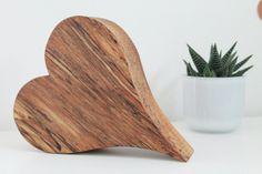 Sag's mit ♥ Holzherz XXL von pfiati - mit Liebe zum Holz auf DaWanda.com