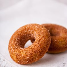 Warm and Spicy Baked Pumpkin Donuts