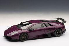 Purple Lamborghini LP670