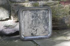 Square Silverplate Serving Tray by Middletown by NorthMajestyTrail