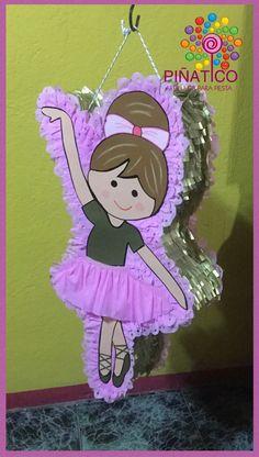 Piñata Silueta de Bailarina