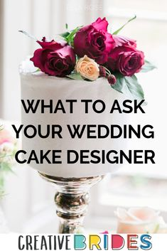 Wondering what to ask your wedding cake designer? Looking for your wedding cake maker? Read these top tips on what yo ask your wedding cake designer on CreativeBrides! Wedding Cake Maker, Wedding Cakes, Wedding Planning Tips, Wedding Tips, Rose Cake, Wedding Cake Designs, Tea Cups, Bride, Creative