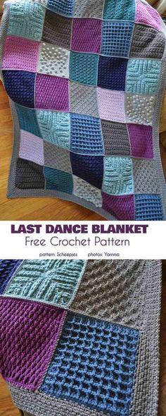 Crochet Afghans, Crochet Squares Afghan, Granny Square Crochet Pattern, Baby Blanket Crochet, Crochet Poncho, Knit Squares Blanket, Crochet Square Blanket, Patchwork Blanket, Afghan Blanket