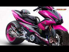 2018 yamaha aerox 155cc Modifired   Motorcycle-Sport! - YouTube Custom Motorcycle Parts, Aftermarket Motorcycle Parts, Scooter Custom, Buy Motorcycle, Motorcycle Design, Aerox 155 Yamaha, Yamaha Nmax, Yamaha Scooter, Yamaha Motorcycles