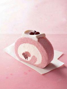 japanese snacks recipes   Sakura cake   Asian Food & Recipes