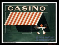 Casino 1931   Cassandre