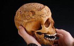 "A kapala (Sanskrit for ""skull"") is made from a human skull used as a ritual implement (bowl) in both Hindu Tantra and Buddhist Tantra (Vajrayana). Especially in Tibet, they were often carved or elaborately mounted with precious metals and jewels."