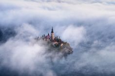 The Church in Heaven by Nubcake - Composing with Negative Space Photo Contest