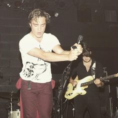 Ed Westwick was a sweaty rocker. - The Best Celebrity Photos of the Week: March 2015 - Photos Hollywood Actresses, Actors & Actresses, Ed Westwick, Austin Butler, Chuck Blair, Gossip Girl Fashion, Chace Crawford, Annasophia Robb, Matthew Espinosa