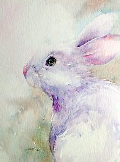 we bring the Best Canvas Painting Ideas for Beginners who has that artist to throw colors on the sheet portraying the thoughts running into mind. Watercolor Animals, Watercolor Paintings, Watercolors, Kids Watercolor, Best Canvas, Rabbit Art, Bunny Art, Elephant Art, Beginner Painting