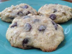 Soft and chewy banana chocolate chip cookies. Mmm. classicookies2go@gmail.com #baking #yum #Monday #cookies #treats #gifts #meetings #events #kitchen #fall #holidays