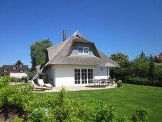 Haus 'Zwischen den Meeren' Zempin - Terrasse und Haus von Süden