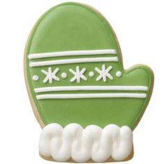 Christmas cookie mitten