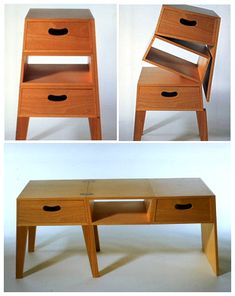 Great piece to have when you move a lot - 2 ways to use it depending on the space you have! Shin + Tomoko Azumi  Product