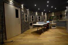 "Recording Studio in Portugal featuring ""Non Environment"" Control Room"
