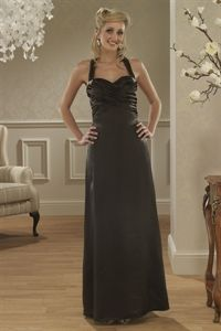Black Halter Evening Gown, Long Black Bridesmaid Dresses, Formal Dress $125.00