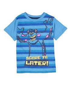 Blue Monsters Inc. 'Scare Ya Later' Tee - Toddler
