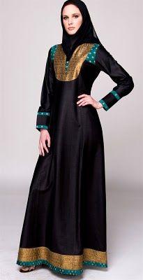 Burkas can be beautiful. fashionworlddesign.blogspot.de