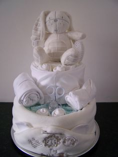Gorgeous Nappy Cake