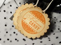 Halloween Candy Tags Candy Halloween favor by WildSugarberries