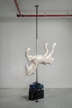 Esther Naor.    'Side Effects' at the Florentin 45 Gallery. 45 Florentin Street, Tel Aviv, Israel.