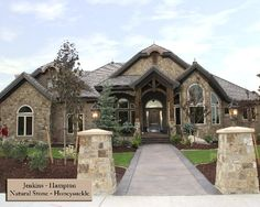 house exterior and stone