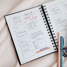 For more pins go to Bullet journal layout ideas Bullet Journal Printables, Bullet Journal Spread, Bullet Journal Layout, Bullet Journal Inspiration, Bullet Journals, Journal Ideas, Study Inspiration, Bujo, Study Journal