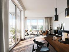 Wohntraum, Offene Und Helle Wohnräume Gestalten, Wohnzimmer, Essbereich,  Wohnen Im Neubau,