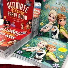 Everyone loves 'The Ultimate Disney Party Book' and 'Disney Frozen Fever Party Book' by @eddausa at the #alaac15! #eddausa #partybooks #Disney #Frozen #FrozenFever #partytime #partyfun #partyfun #Frozensisters #amazon